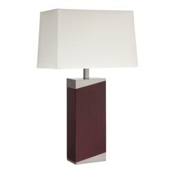 Wood Base Table Lamp , 87283
