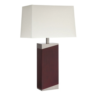 Wood Base Table Lamp , 87283