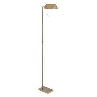 Adjustable Pull Chain Metal Floor Lamp, 87294