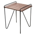 Wood Top End Table, 46207
