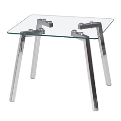 Glass End Table, 46208
