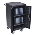 "Mobile Charging 18 Slot Tablet Storage Cart- 39.75""H, 43396"