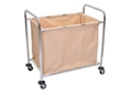 Chrome Steel Frame Laundry Cart, 87090