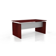 "Floating Top Executive Desk - 72""W, 10091"