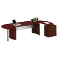 "Contemporary L-Desk with Right Return - 116""W x 63""D, 13790"