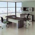 """Complete Contemporary L-Desk Office Set - 143""""W x 63""""D, 13791"""