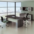 "Complete Contemporary L-Desk Office Set - 116""W x 63""D, 13791"