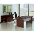 Contemporary Executive Desk Suite, 13793