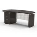 "Left Pedestal Executive Desk with Modesty Panel - 72""W, 14102"