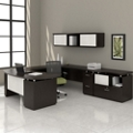 U-Desk with Hutch and Storage, 14127