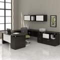 U-Desk with Hutch and Storage, 14127