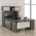 "Executive U-Desk with Hutch - 72""W, 14132"