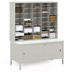 Storage Table and Mail Sorter, 36684
