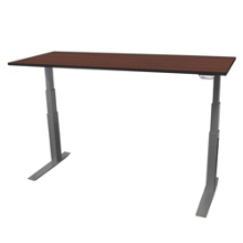 "Electric Adjustable Height Table - 54""W x 24""D, 41701"
