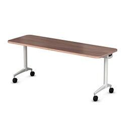 "Mobile Flip Top Nesting Table - 54""W x 24""D, 41706"