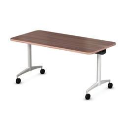 "Mobile Flip Top Nesting Table - 60""W x 30""D, 41712"