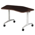 "Mobile Flip Top Nesting Transition Table - 48""W x 24""D, 41715"