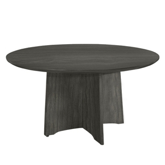 "Round Contemporary Conference Table - 48"" Diameter, 41756"