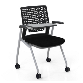 Chairs With Desk Arm Folding Writing Tablet Seating For