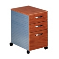 Three Drawer Mobile Storage Pedestal, 60929