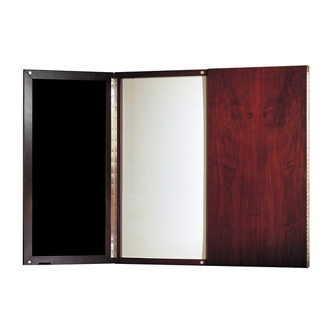 Marker Board with Wood Doors, 80211