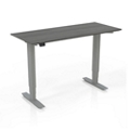 "Height Adjustable Compact Tall Table Desk - 24.5"" to 50""H, 14449"