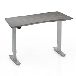 """Height Adjustable Compact Table Desk - 28"""" to 47.6""""H, 14446"""