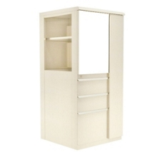 "Right Wardrobe Door Storage Cabinet with Binder Storage - 52""H, 36418"