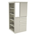 "Left Bookcase Storage Tower - 52"" H, 36419"