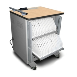 "iPad Sync and Charge Cart - 42.25""H, 60034"
