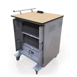 "Tablet Charging Cart - 42.25""H, 60035"