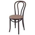 Bentwood Hairpin Chair with Vinyl Seat, 44381