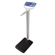 Digital Scale with Height Rod - 500 lb Capacity, 25850