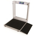 Bariatric Wheelchair Scale - 1000 lb Capacity, 25854