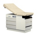 Five Drawer Exam Table with Stirrups, 25855