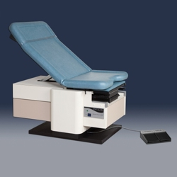 Electric Exam Table with Pelvic Tilt and Heated Exam Tray, 25857