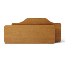 Headboard and Footboard for Alterra Beds, 25862