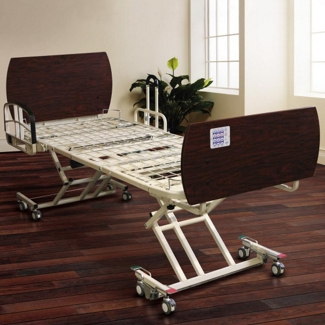 """Locking High-Low Electric Bed Frame - 7.25"""" to 26""""H, 25905"""