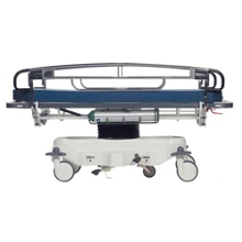 Adjustable Height Transport Stretcher with CuVerro Antimicrobial Rails, 25912