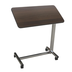 Economy Adjustable Height Tilt Top Overbed Table, 26034
