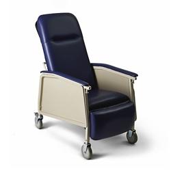 Narrow Mobile Patient Recliner with Adjustable Headrest , 26058