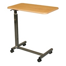 Laminate Top Overbed Table with H Base, 26064
