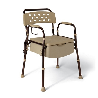 """Microban Bedside Commode - 27.2""""W, 26069"""