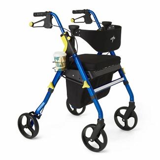 Adjustable Rollator with Memory Foam Seat, 82174