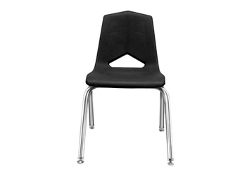 "V Back Student Chair with 14""H Chrome Frame, 51635"