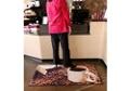 "Coffee Design Carpeted Floor Mat - 36"" x 60"", 54294"