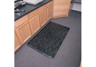 "Anti-Fatigue Rubber Mat - 24"" x 36"", 54304"