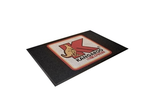 "Water Removal Mat with Custom Logo - 48"" x72"", 54349"