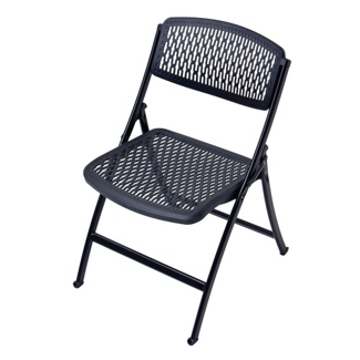 Ventilated Poly Folding Chair, 51353
