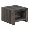 """Recycled Pine End Table - 19.5""""W, 46228"""